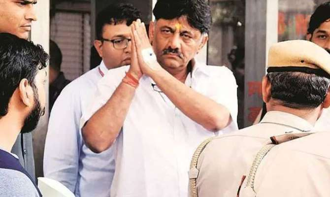 കോണ്ഗ്രസ് നേതാവ് ഡി.കെ ശിവകുമാര് ഒക്ടോബര് ഒന്നുവരെ ജുഡീഷ്യല് കസ്റ്റഡിയില്