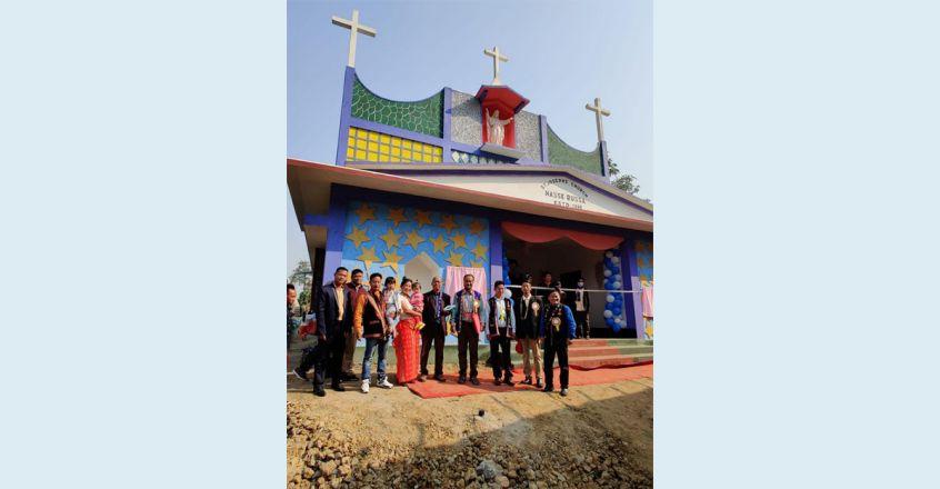 റവ. ഫാ. ഏബ്രഹാം മുത്തോലത്ത് സ്ഥാപിച്ച സെന്റ്. ജോസഫ് ദൈവാലയം ആശീർവദിച്ചു