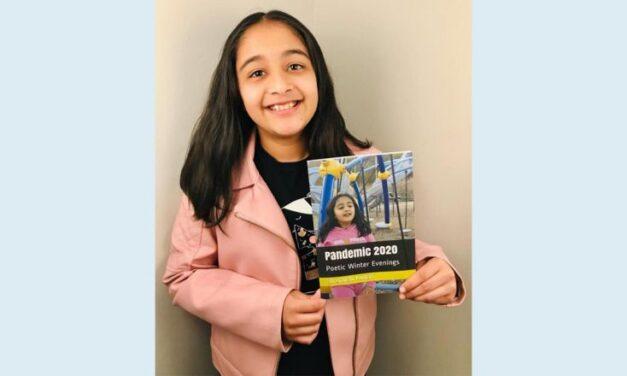 കോവിഡിനെതിരായ 10 വയസ്സുകാരിയുടെ കവിതാ സമാഹാരം പ്രസിദ്ധീകരിച്ചു