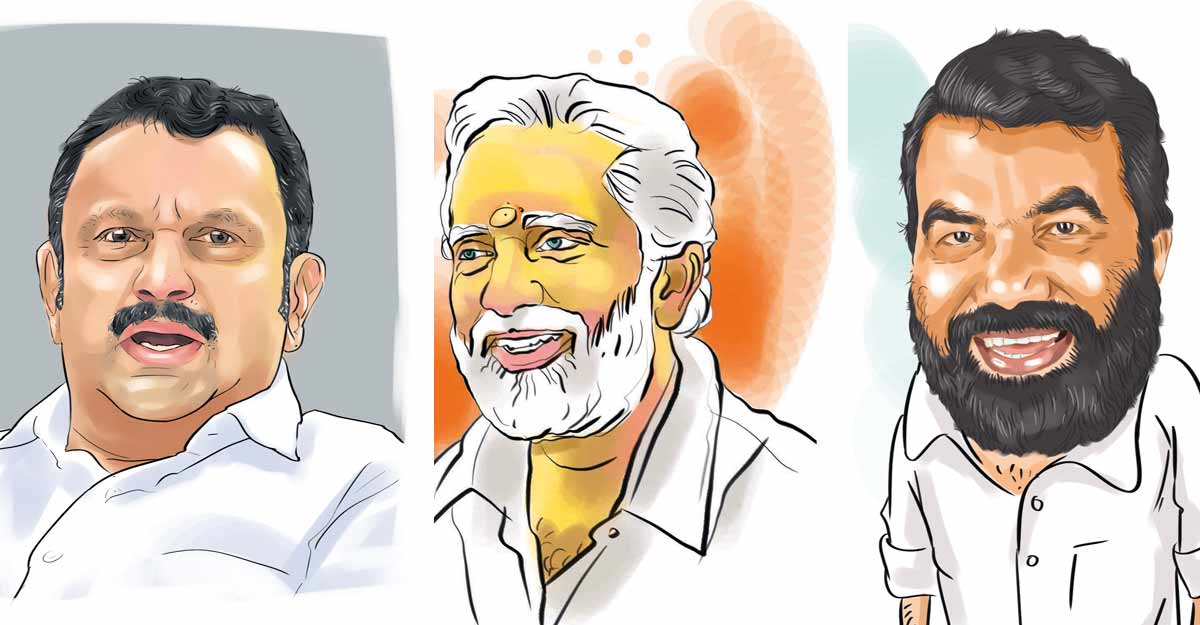 നേമത്ത് കെ.മുരളീധരന്; വട്ടിയൂര്ക്കാവില് വി.കെ.പ്രശാന്ത്; തലസ്ഥാനത്ത് ഇടതുമുന്നണിക്ക് 11 സീറ്റ് വരെ കിട്ടാമെന്ന് ഏഷ്യാനെറ്റ്