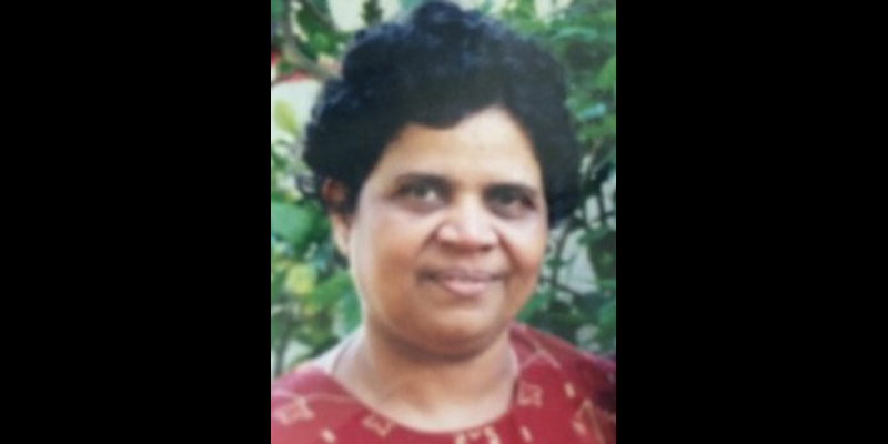 വിജയലക്ഷ്മി (75) ന്യൂയോർക്കിൽ നിര്യാതയായി
