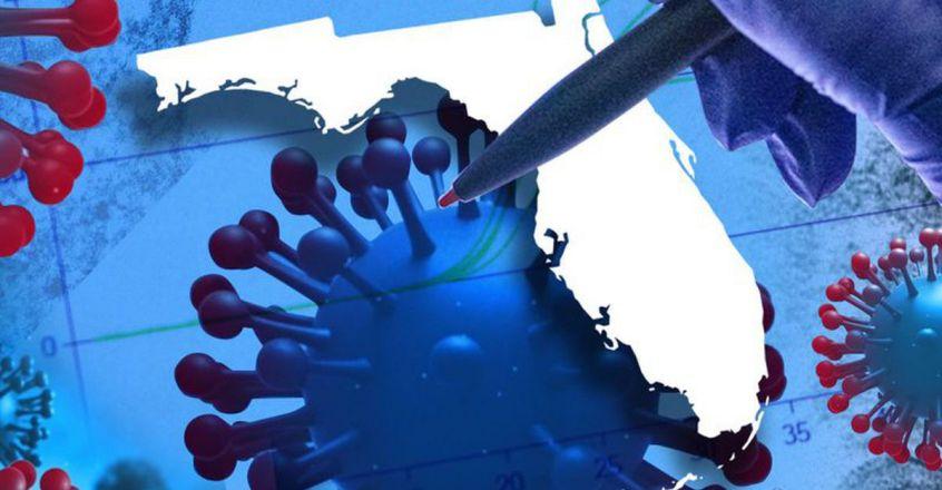 ജനിതകമാറ്റം സംഭവിച്ച 8500 കോവിഡ് കേസുകൾ ഫ്ലോറിഡയിൽ റിപ്പോർട്ട് ചെയ്ത