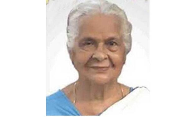 ചിന്നമ്മ വര്ഗീസ് (87) നിര്യാതയായി