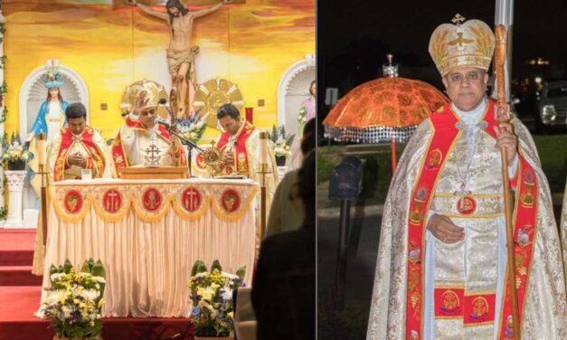വിർജീനിയ സെന്റ് ജൂഡ് സീറോ മലബാർ പള്ളിയില് തിരുനാളിന് കൊടിയേറി